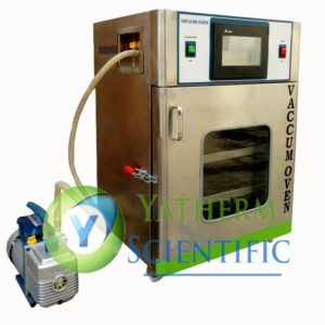 SS Vacuum Oven with PLC