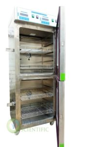 Combination warming cabinet